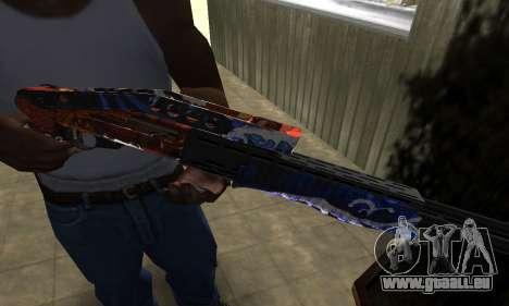 Fish Power Combat Shotgun pour GTA San Andreas
