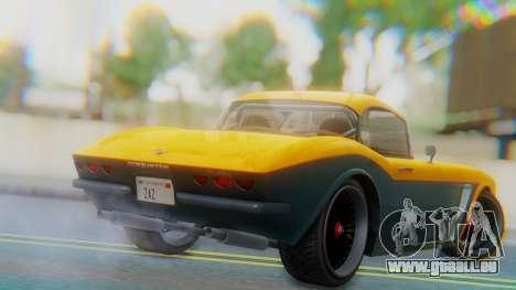 Invetero Coquette BlackFin Not Convertible pour GTA San Andreas laissé vue