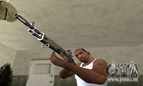 Military Rifle für GTA San Andreas zweiten Screenshot