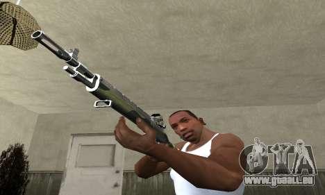 Military Rifle pour GTA San Andreas deuxième écran