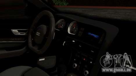 Audi RS6 Civil Drag Version für GTA San Andreas rechten Ansicht