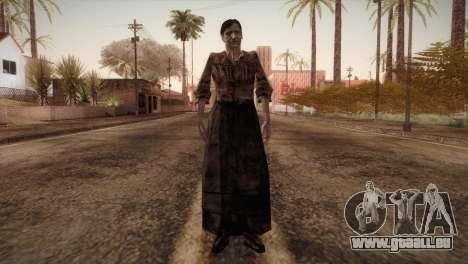 RE4 Isabel without Kerchief pour GTA San Andreas deuxième écran