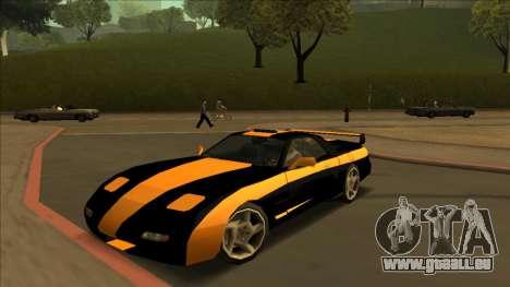 ZR-350 Road King pour GTA San Andreas vue arrière