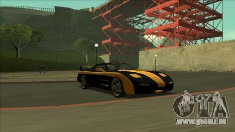 ZR-350 Road King pour GTA San Andreas salon