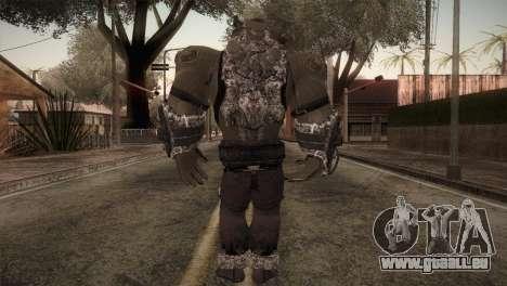 Bane Boss (Batman Arkham City) für GTA San Andreas dritten Screenshot