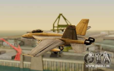 FA-18F Super Hornet BF4 für GTA San Andreas linke Ansicht