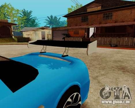 Infernus Lamborghini pour GTA San Andreas vue de côté