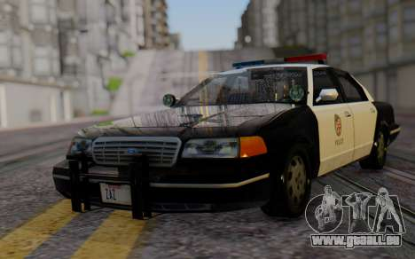 Ford Crown Victoria LSPD pour GTA San Andreas