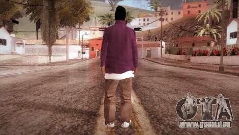 HD ballas3 Retextured pour GTA San Andreas troisième écran