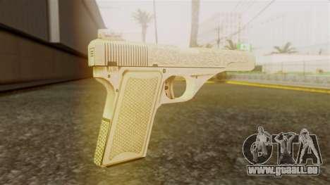 Vintage Pistol GTA 5 für GTA San Andreas zweiten Screenshot