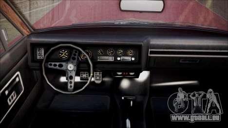 GTA 5 Vapid Chino für GTA San Andreas zurück linke Ansicht