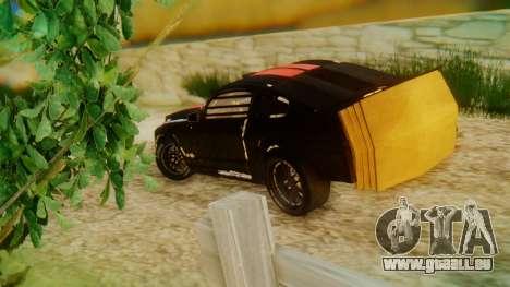 Shelby GT500 Death Race für GTA San Andreas linke Ansicht