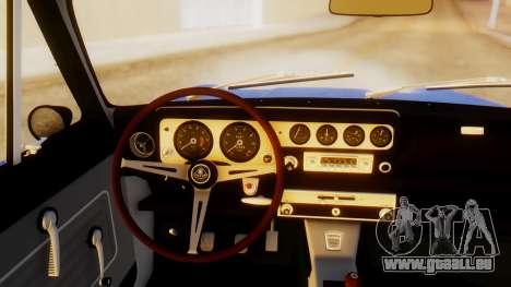 Lotus Cortina 1966 pour GTA San Andreas sur la vue arrière gauche