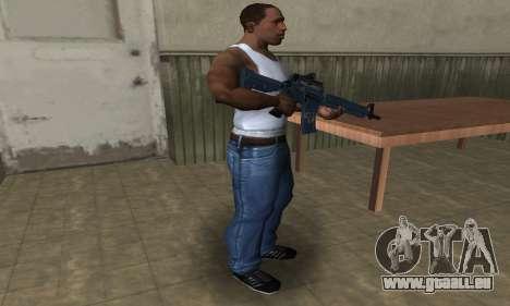 Counter Strike M4 für GTA San Andreas dritten Screenshot