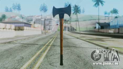 Doubleaxe from Silent Hill Downpour pour GTA San Andreas