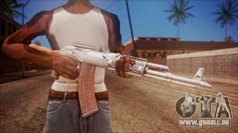 AK-47 v4 from Battlefield Hardline pour GTA San Andreas troisième écran