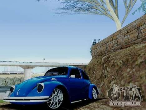Volkswagen Beetle 1980 Stanced v1 für GTA San Andreas