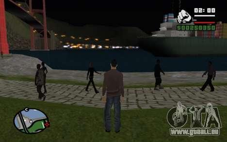 La nuit éternelle pour GTA San Andreas troisième écran