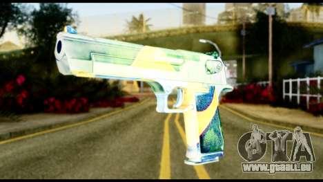 Brasileiro Desert Eagle pour GTA San Andreas