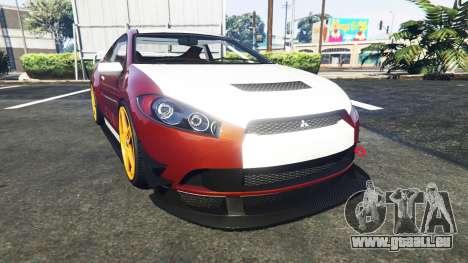 Maibatsu Penumbra Mitsubishi Eclipse pour GTA 5