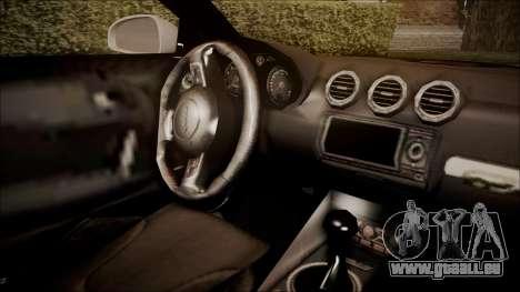 Audi TT RS 2011 v3 für GTA San Andreas rechten Ansicht