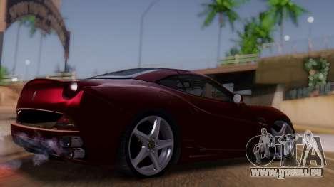 Ferrari California v2.0 für GTA San Andreas linke Ansicht