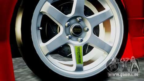 Nissan Silvia S15 für GTA San Andreas zurück linke Ansicht