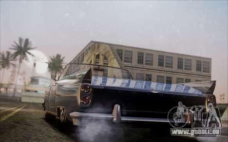 GTA 5 Vapid Peyote pour GTA San Andreas laissé vue