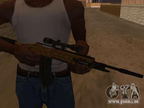 Marksman Rifle pour GTA San Andreas deuxième écran