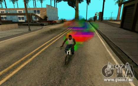 Bike Smoke für GTA San Andreas zweiten Screenshot