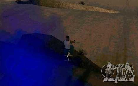 Bike Smoke für GTA San Andreas dritten Screenshot
