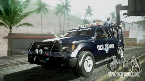 Ford Pickup Policia Federal für GTA San Andreas