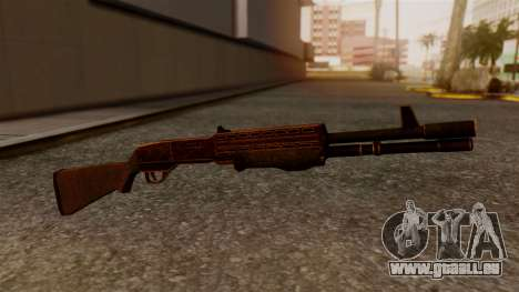 BlueSteel Shotgun für GTA San Andreas