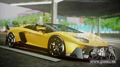 Lamborghini Veneno LP700-4 AVSM Roadster Version für GTA San Andreas linke Ansicht