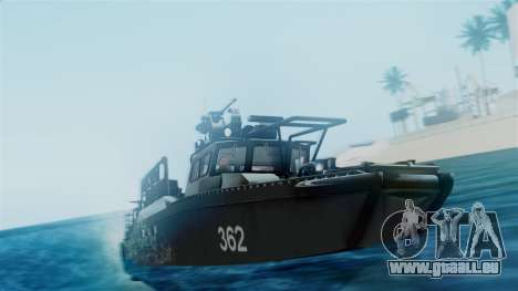CB90-Class Fast Assault Craft BF4 pour GTA San Andreas vue de droite