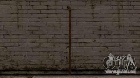 Steel Pipe für GTA San Andreas