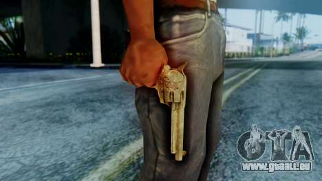 Red Dead Redemption Revolver Cattleman Sergio für GTA San Andreas dritten Screenshot
