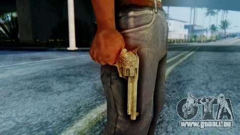Red Dead Redemption Revolver Cattleman Sergio pour GTA San Andreas troisième écran