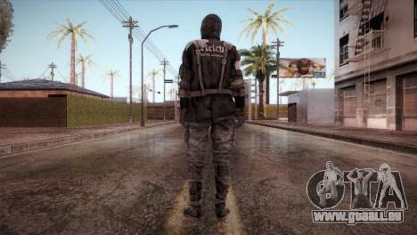 Soldat Du Reich pour GTA San Andreas troisième écran