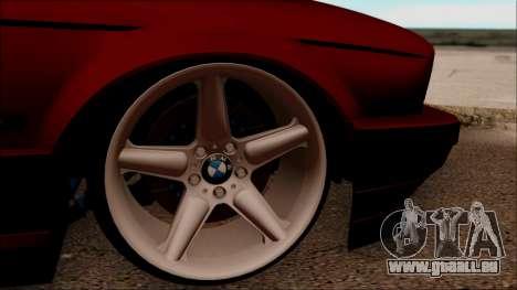 BMW M5 Touring E34 für GTA San Andreas Rückansicht