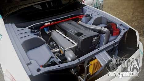 Nissan Skyline ER34 GT-Shop pour GTA San Andreas vue arrière