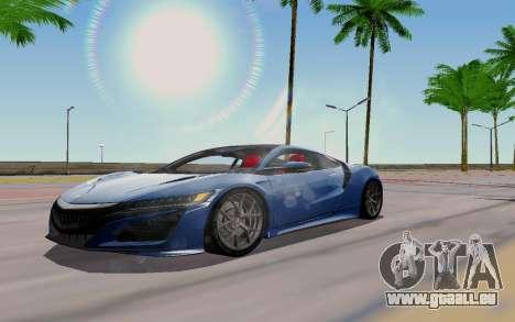 Novel ENB pour GTA San Andreas