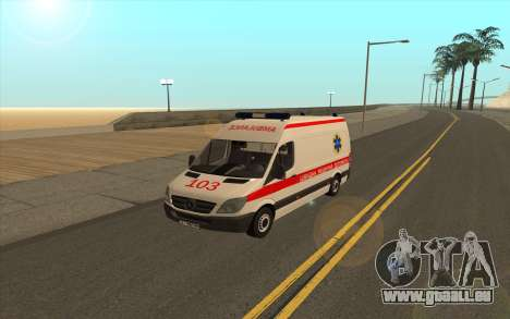 Mercedes-Benz Sprinter Ambulance De L'Ukraine pour GTA San Andreas