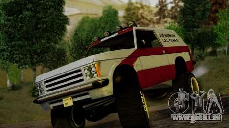 New Sandking pour GTA San Andreas