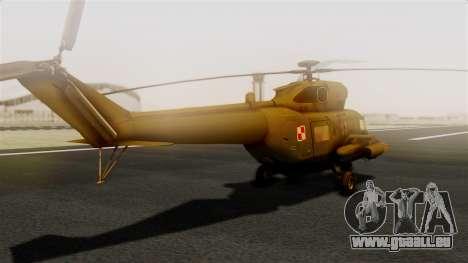 PZL W-3PL Grouse pour GTA San Andreas laissé vue