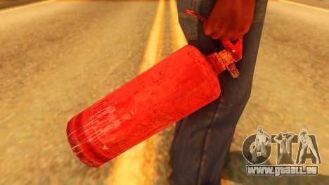 Atmosphere Fire Extinguisher für GTA San Andreas dritten Screenshot