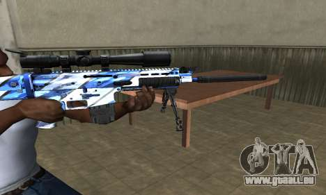 Mount Sniper Rifle für GTA San Andreas zweiten Screenshot