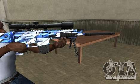Mount Sniper Rifle für GTA San Andreas zweiten Screenshot