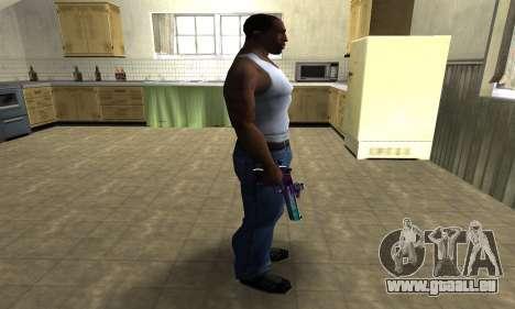 Space Deagle pour GTA San Andreas troisième écran