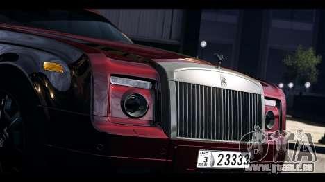 Rolls-Royce Phantom 2009 Coupe v1.0 pour GTA 4 est un droit